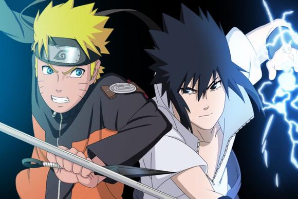 Naruto And Sasuke Friends Forever