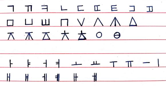 并且,進一步簡化字母,打破雙元音拼寫規則,根據需要隨意拼寫雙元音.圖片