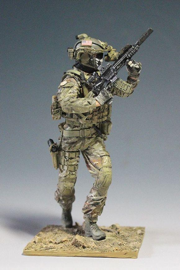 兵人模型吧_【图片】【 11-01 兵人】Spades Models 120mm 海豹六队【模型吧】_百度 ...