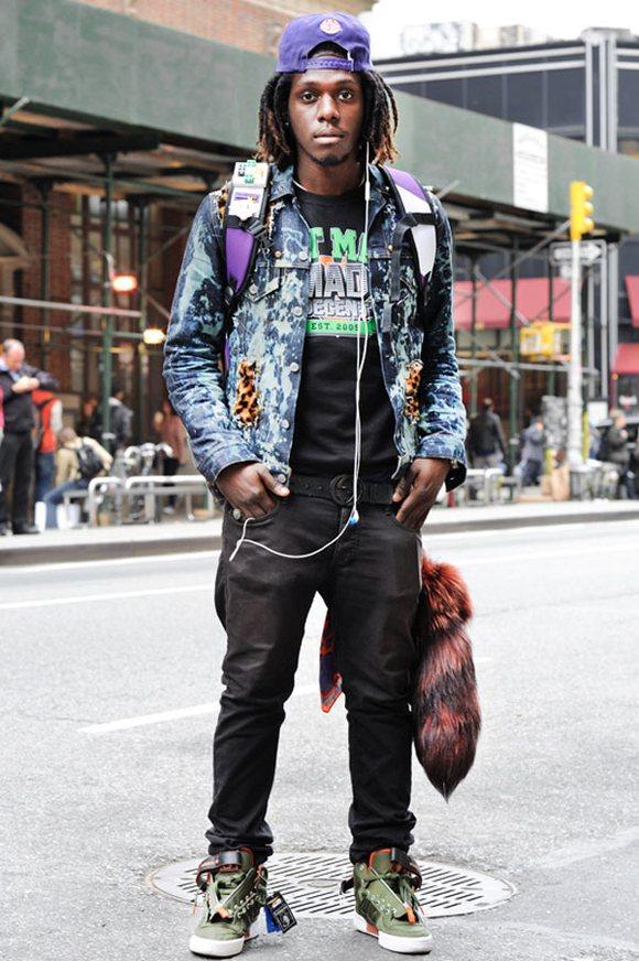 【图片】【中意皑希优】感受纽约街头的时尚气息 Monsieur Jerome纽约街拍【acu吧】 百度贴吧