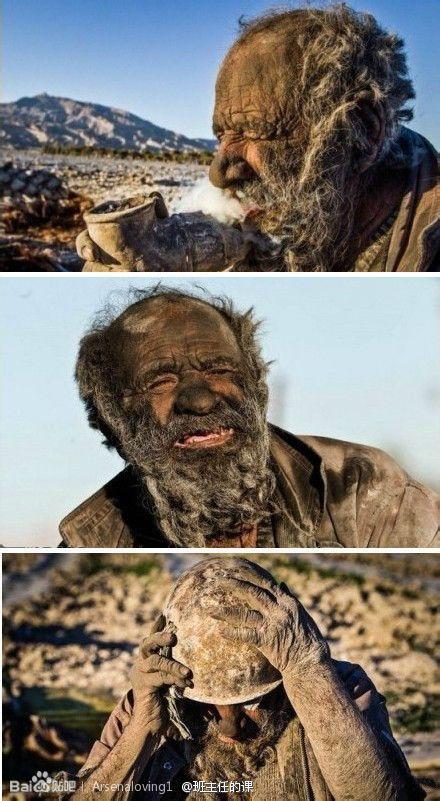 伊朗人与兽_80岁的伊朗男子haji是世界上最脏的人,因为他已经60年