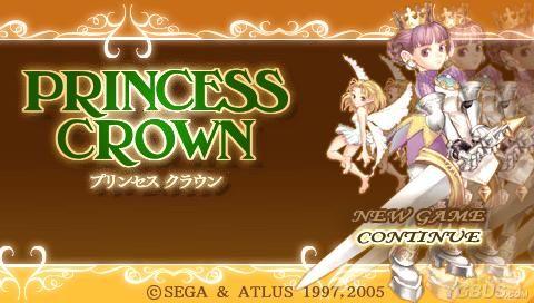把2d游戏做到了极致~ 嘛~ 先上第一部:公主皇冠 atlus在97年发行最早
