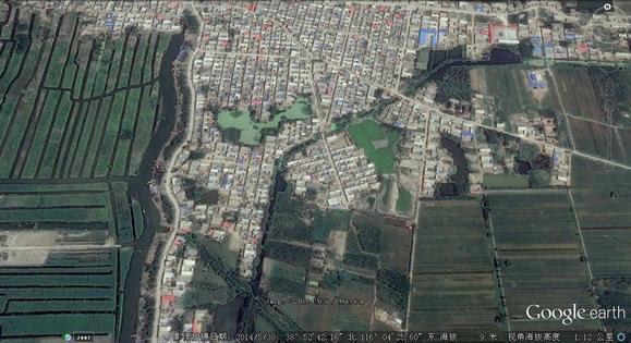 南堤村贴吧_【图片】谷歌地球上的李广村_李广村吧_百度贴吧