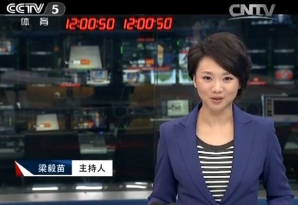 【love苗苗】體壇快訊 2013.12.11 主持人梁毅苗圖片