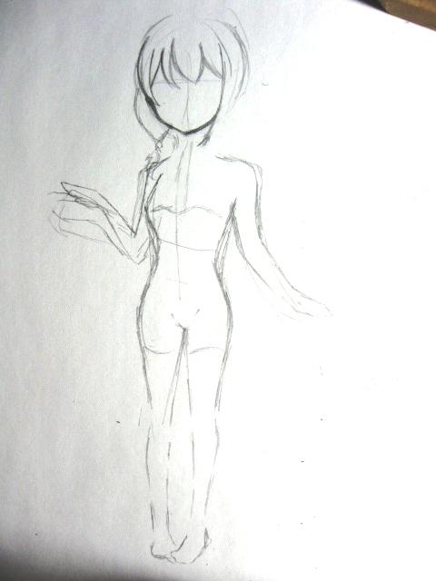 条琉璃人体写真_╄→♂『liuli 琉璃喵~』♀|原创|大半夜练习人体比例