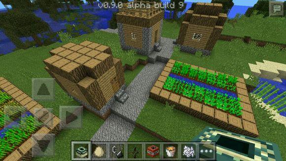 巨型村庄种子_我的世界0.9.0村庄种子