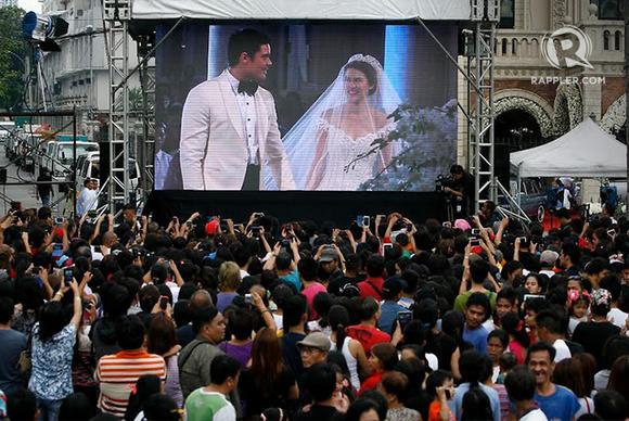 in photos: dingdong dantes and marian rivera's wedding day