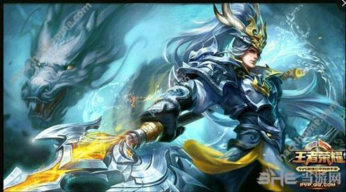 求一張王者榮耀韓信白龍吟皮膚的高清壁紙圖片