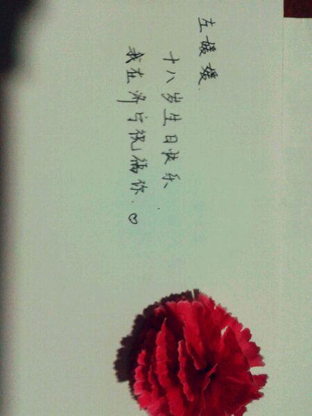 十八岁生日祝福�_格式:左媛媛 十八岁生日快乐 我在xxx 祝福语