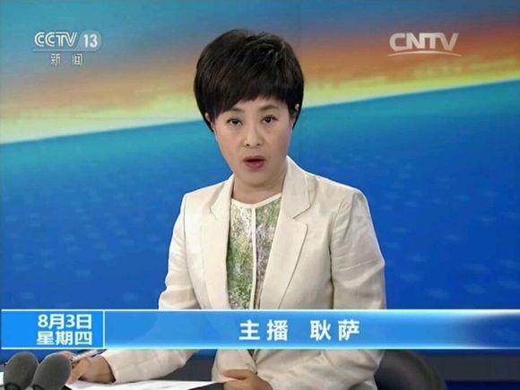 cctv13主持人紫凝_2017年08月午夜新闻新闻直播间主持人出镜记录
