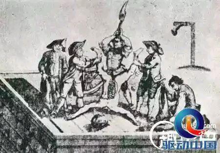 生殖器酷刑_再次,会对受刑者进行剖腹和阉割,其肠子和生殖器会在受刑者面前进行