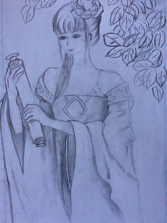 姐姐怎么画_[你够了! 好吧这是我姐姐画的orz @寒零_魔殇