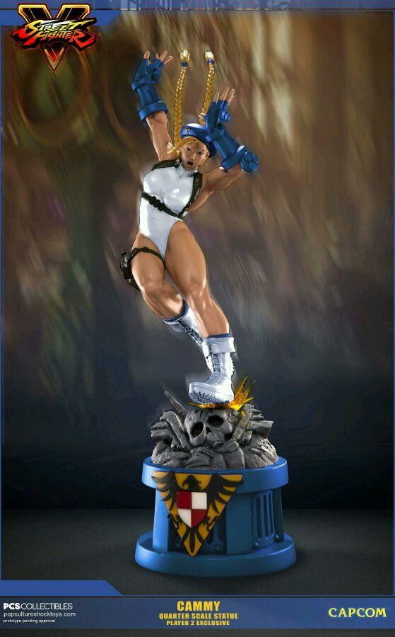 pop culture shock exclusive player 2 white cammy street fighter