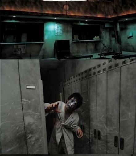 实拍日本鬼屋胆小慎入_日本恐怖医院鬼屋日本鬼屋吓死人图片日本鬼屋图片