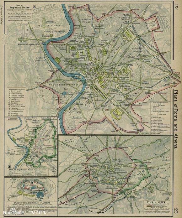 一般認為2世紀的羅馬城有100萬人口,城市建設用地面積超過21平方千米圖片