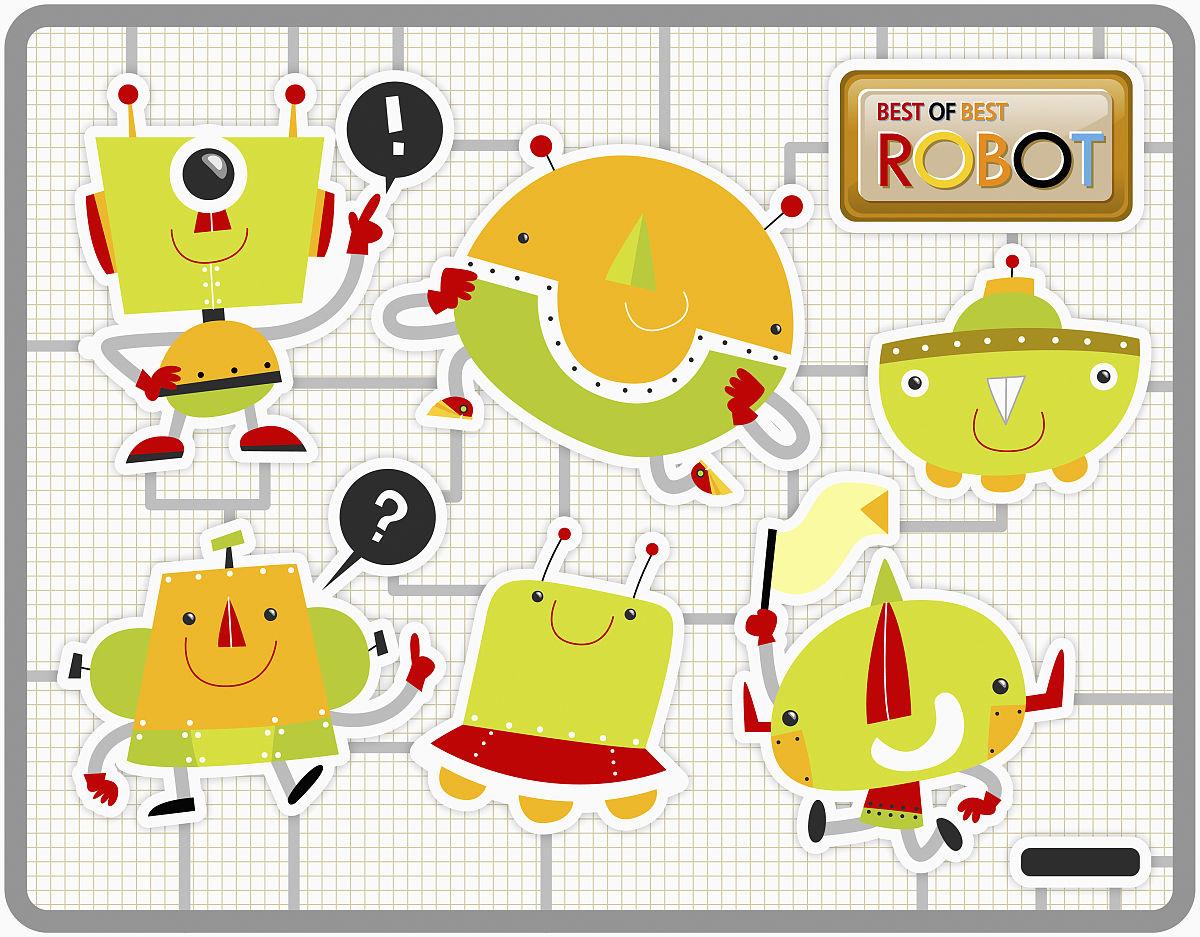 對話氣泡框,檔案,機器人,無人,韓國,朝鮮半島,感嘆號,水平畫幅,問號圖片