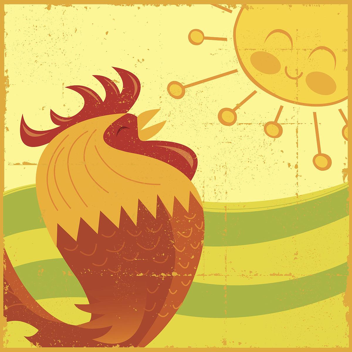 微信早上好公鸡打鸣图片_早上的太阳图片唯美-早上的太阳怎么形容_早上好有太阳的图片 ...