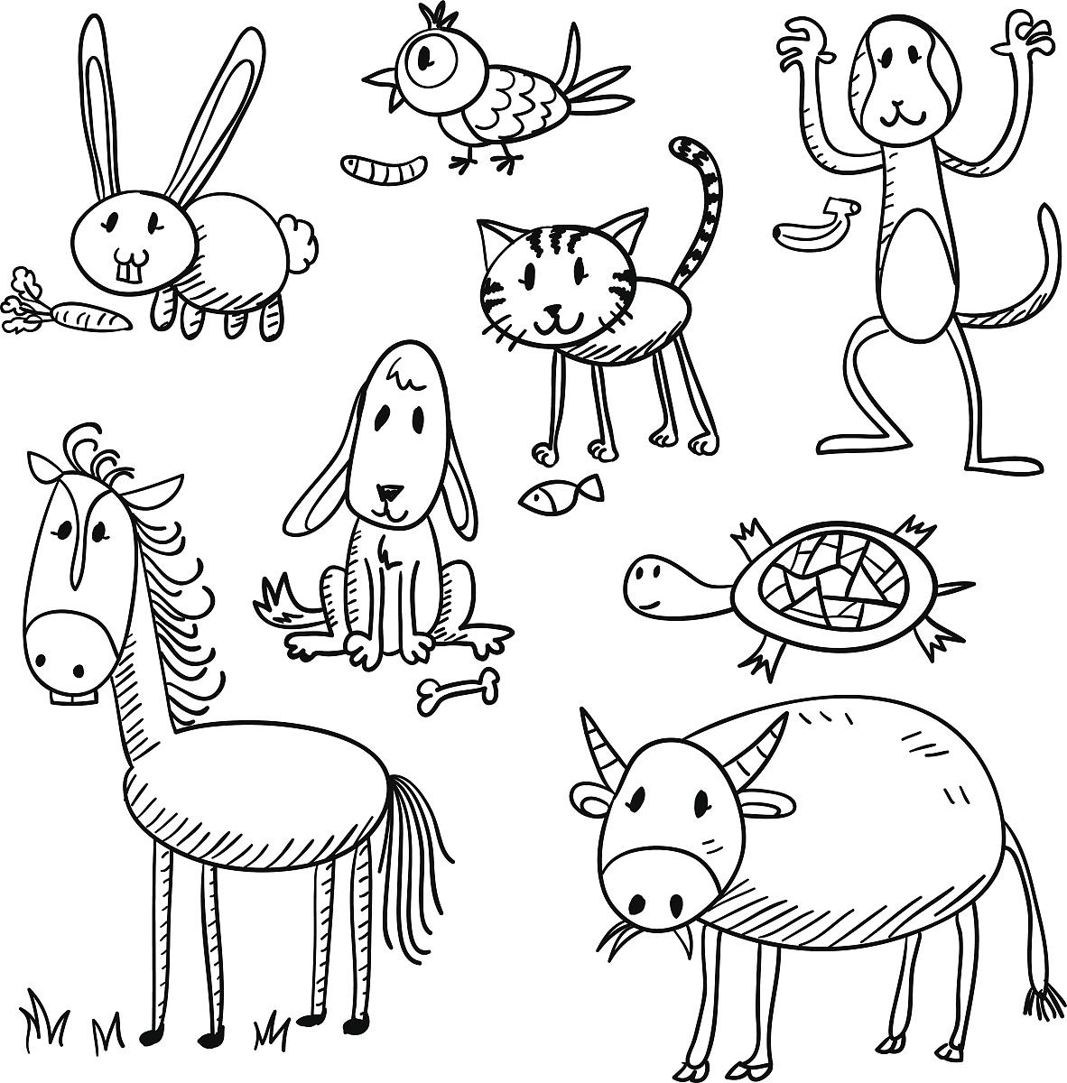 简笔画裸体动漫人物_简单线条画人物卡通-人物简笔画-简单线条卡通人物图案-儿童 ...