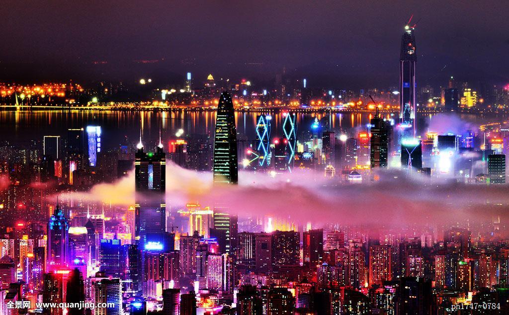 深圳夜景_深圳旅游旅行旅游照片休闲风景户外都市深圳风光城市景观