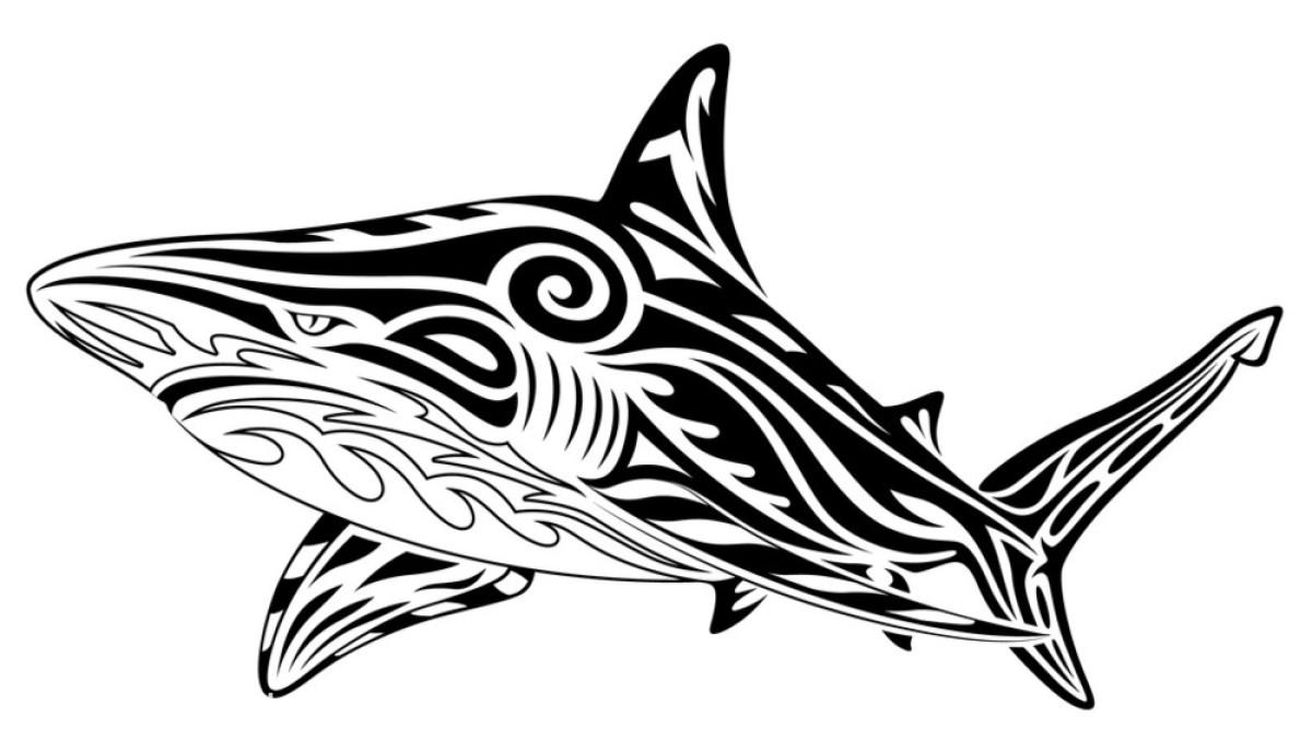 紋身水浪圖案圖片