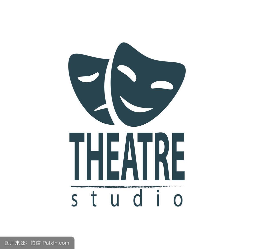 set of theater studio logo design圖片