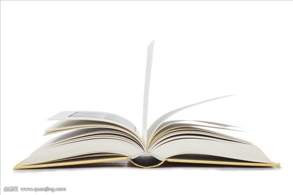 翻開的書書簡筆畫分享展示圖片