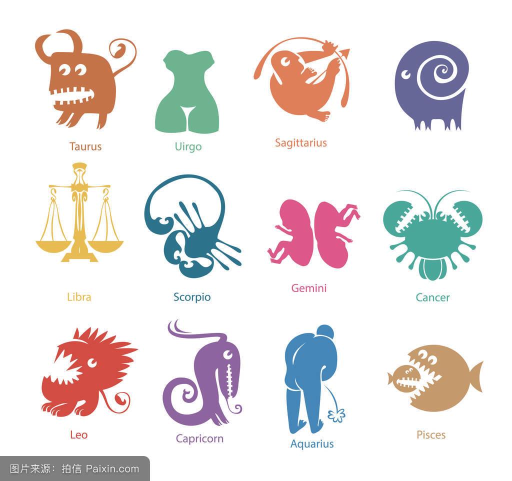 蝎子,女人,標志,向量,符號,處女座,雙胞胎,生肖,財富,星座,金牛座圖片