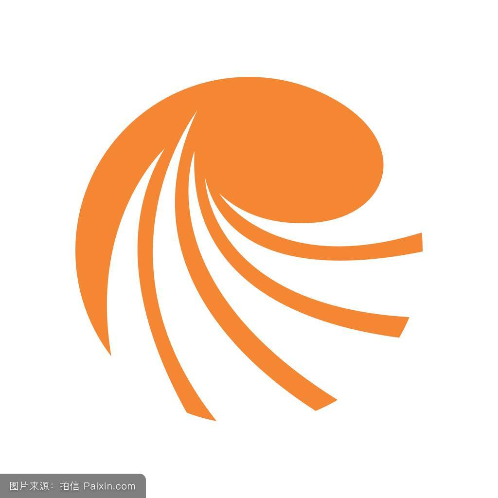 abstract accounting financial management logo design template圖片