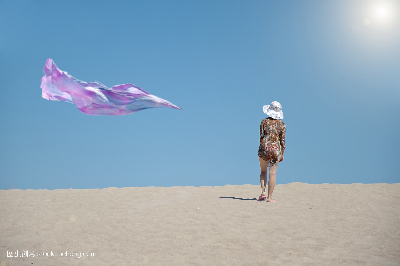 放松,一個人,景色,人,人物,假期,太陽,休閑,人類,女人,假日,地面圖片