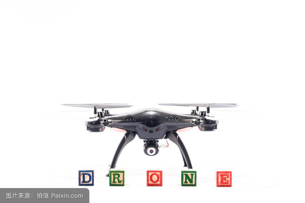 現代的直升機無人駕駛飛機四軸飛行器螺旋槳飛無人機攝像頭圖片