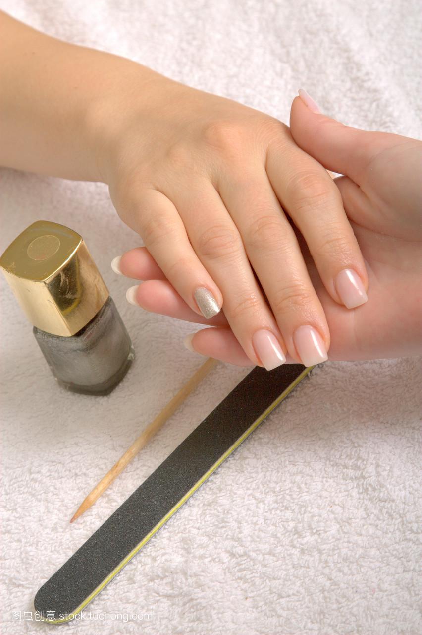 一件,手指放頭上,魅力,手指甲,拇指,指甲,護理,文件,時裝模特,時裝圖片